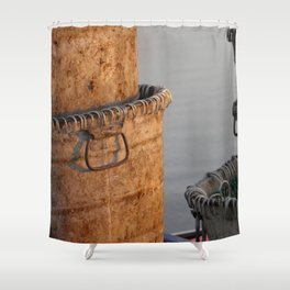 goin' fishin' Shower Curtain