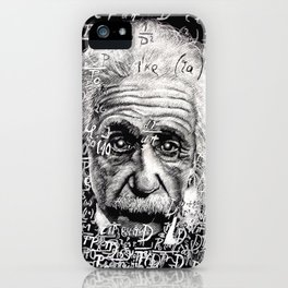 The Mind of a Genius iPhone Case