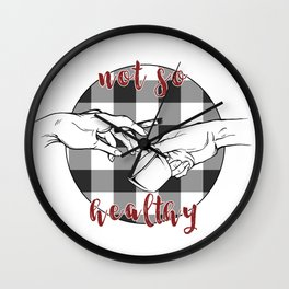 Coffee and Cigarettes Wall Clock