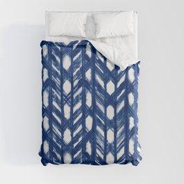 Shibori Lattice Duvet Cover