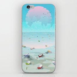 Between two waters iPhone Skin