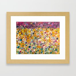 Dancing Meadow 2 Framed Art Print