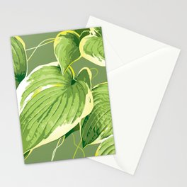 Ficus Plant 5 Stationery Cards