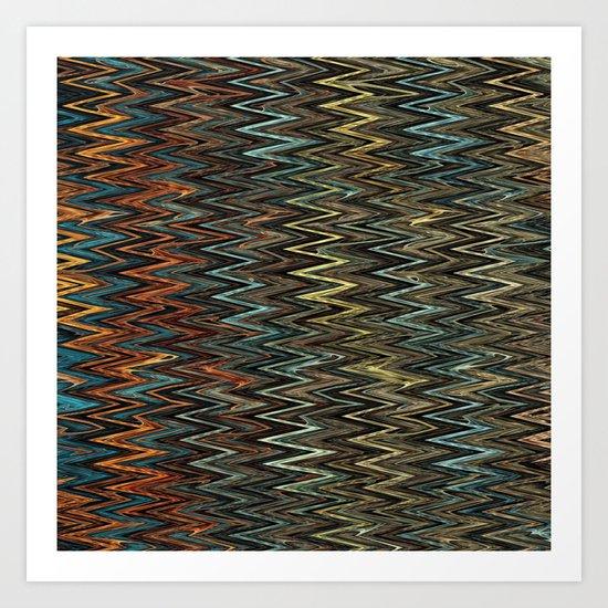 Southwestern Pattern Art Print