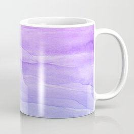 Abstract Watercolor Layers - Purple Ombre Coffee Mug