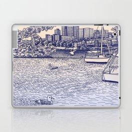 Charles River Esplanade Laptop & iPad Skin