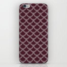 Cranberry Scallops iPhone Skin