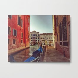 Postcard from Venice. Fine art travel photography. Metal Print
