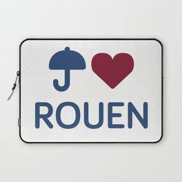 "I ""Love"" Rouen Laptop Sleeve"