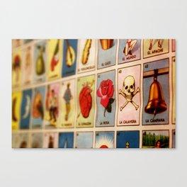 Lotería Canvas Print