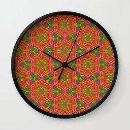 That 70's Pattern Wall Clock