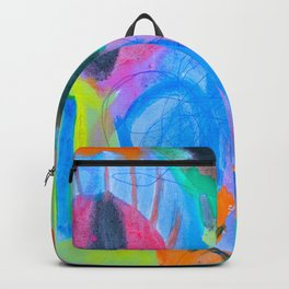 Summer Love | Painting by Elisavet Backpack