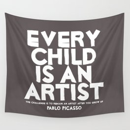Artist - Quotable Series Wall Tapestry