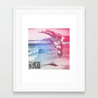 pixies Framed Art Prints featuring Pixies - Where Is My Mind? by @todseitz