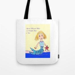 Mermaid Wishes Tote Bag