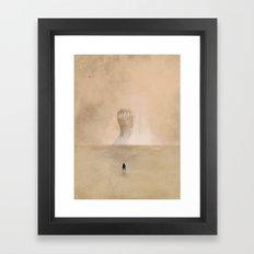 Dune 3 Framed Art Print