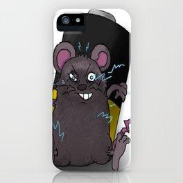 Zap Rat iPhone Case