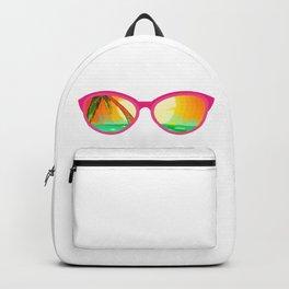 Beach Please - sun glasses for the beach Backpack