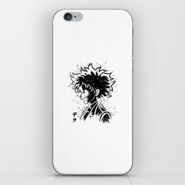 Anime Hero iPhone Skin