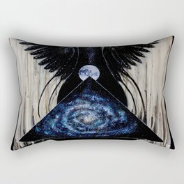 Between the Worlds Rectangular Pillow