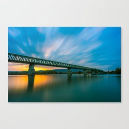 Budapest and the Danube Canvas Print
