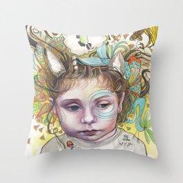 Creativity Throw Pillow