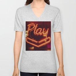 Play Unisex V-Neck