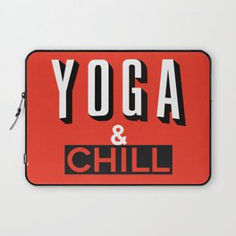 Yoga & Chill Laptop Sleeve