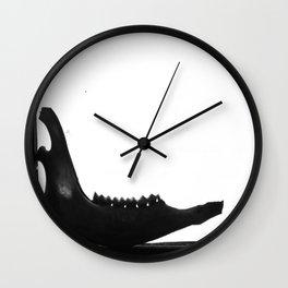 Jaw Wall Clock
