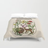 huebucket Duvet Covers featuring The Way You Remember Me by Huebucket