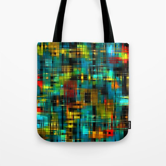 Art splash brush strokes paint abstract seamless pattern print background Tote Bag