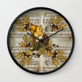 History of the autumn forest_4 Wall Clock