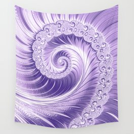 Ultra Violet Luxe Spiral Pattern | Trendy Color of the Year 2018 Wall Tapestry