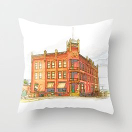 State Capital Company Throw Pillow