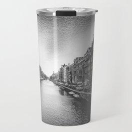 Caught in a Constant Sea Travel Mug