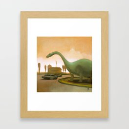 Dinosaur! Framed Art Print