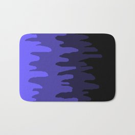 Splash of colour (blue) Bath Mat