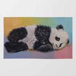 Baby Panda Rainbow Rug