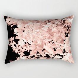 Abstract Tree Landscape Dark Botanical Art Sepia 2 Rectangular Pillow