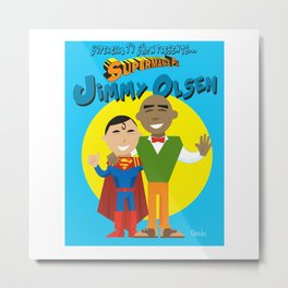 Jimmy Olsen From Supergirl Metal Print