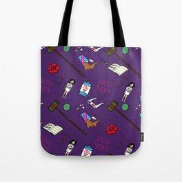 Heathers (Holy Trinity Print #1) Tote Bag