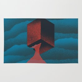 RED CUBE Rug