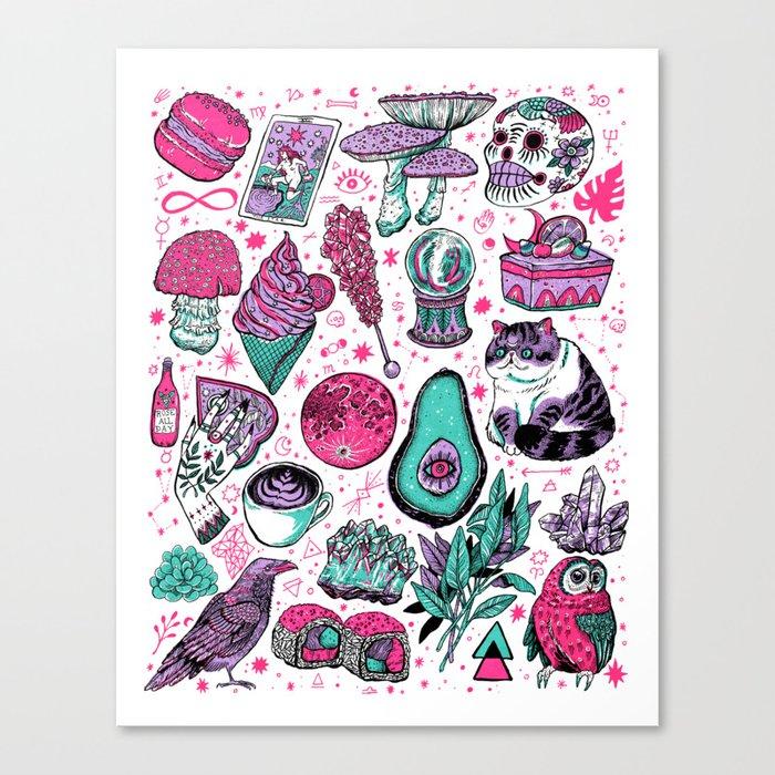 Basic Witch II Canvas Print
