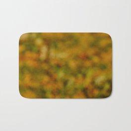 Autumn Background Bath Mat