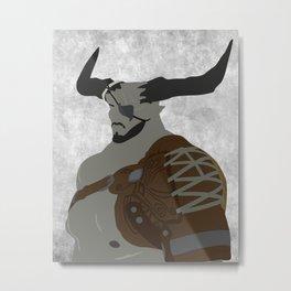 The Iron Bull Metal Print