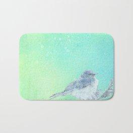 Bluebird Inked Bath Mat