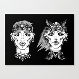 Ickus & Oblina  Canvas Print