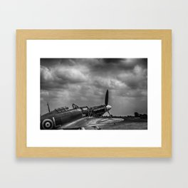 Covers Off 2 Black and White Framed Art Print