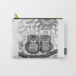 OWL TALK Carry-All Pouch
