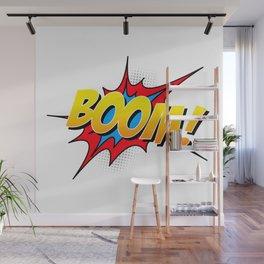 Boom!! Wall Mural